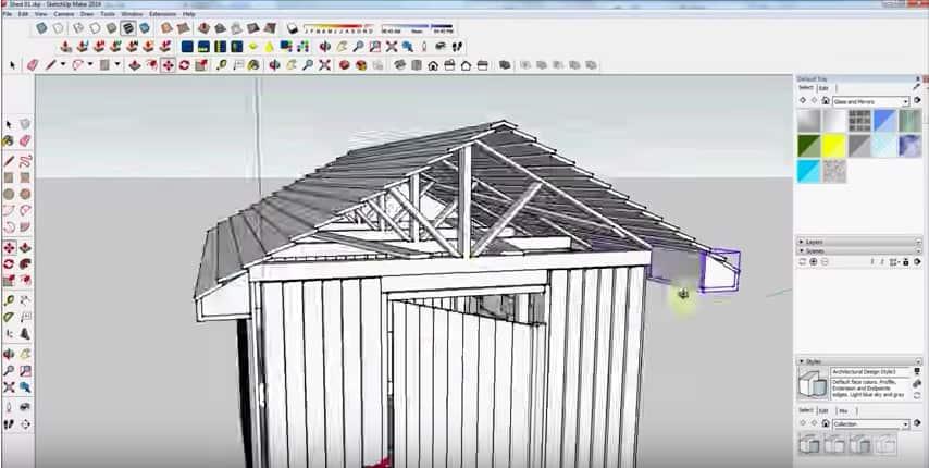 SketchUp Roof