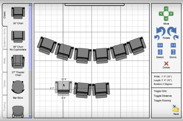 Room Builder 2D Drawing
