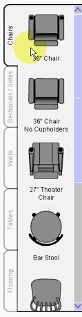 Room Builder Chairs