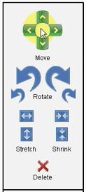 Room Builder Control Panel