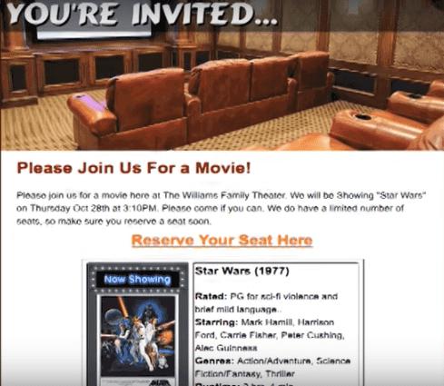 Room Builder Invitation