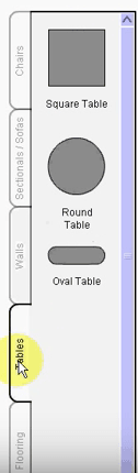 Room Builder Tables