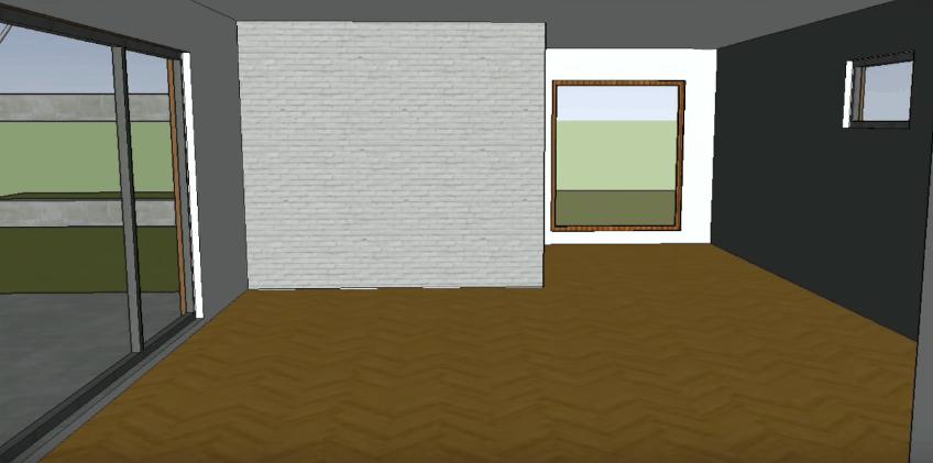SketchUp Interior View