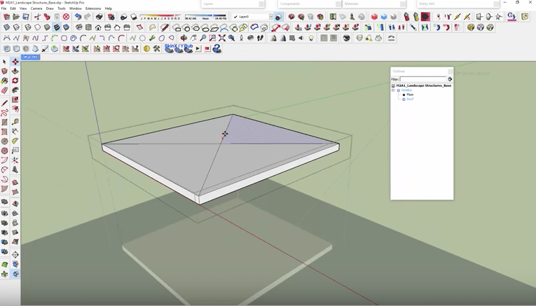 SketchUp Modify Roof