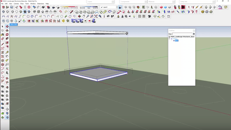 SketchUp Roof