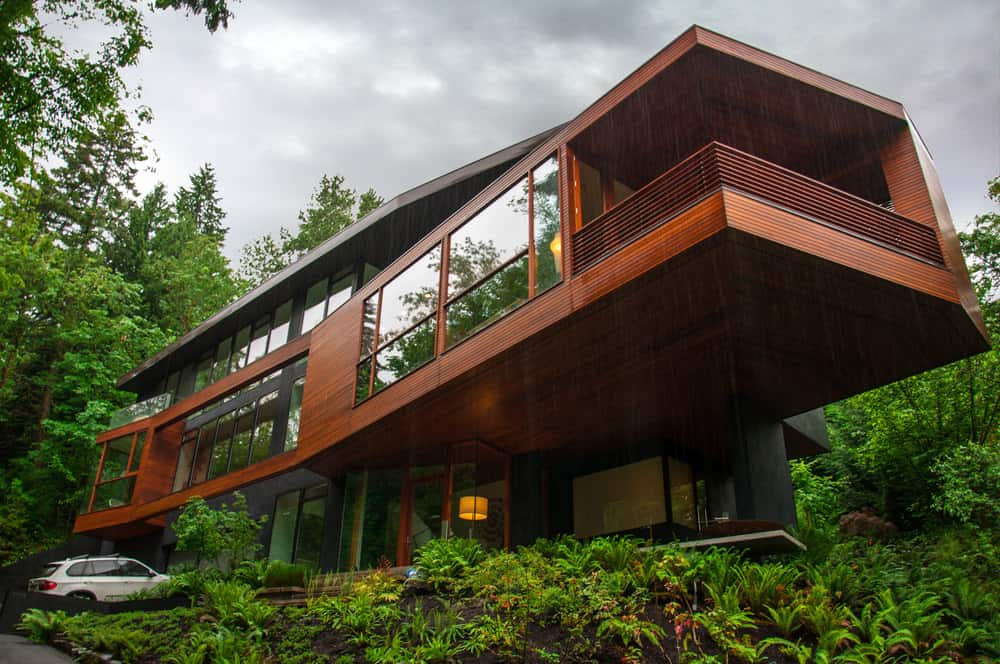 """The house used as a residence for the vampire family """"Cullens"""" in """"Twilight"""" (Oregon)"""