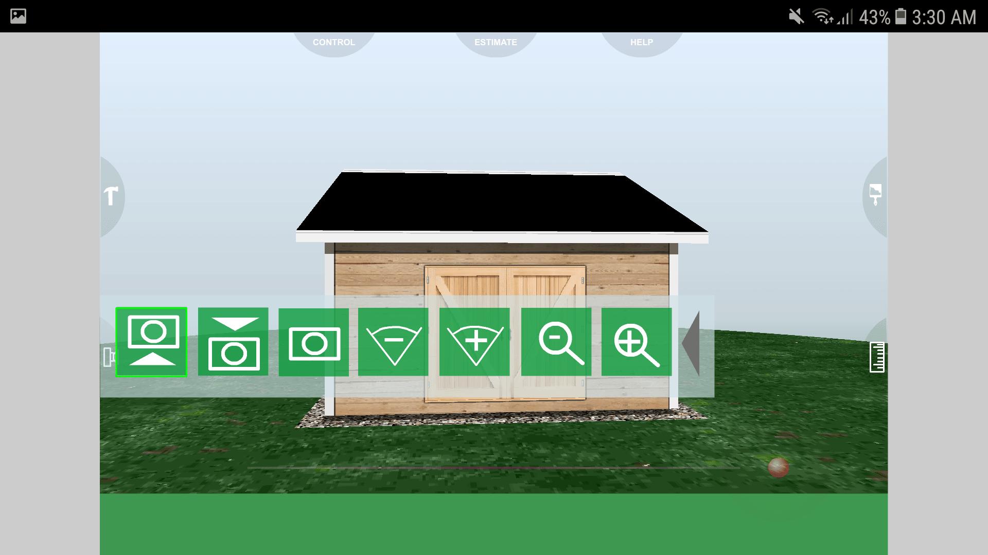 Udesignit 3D Garage Shed Camera