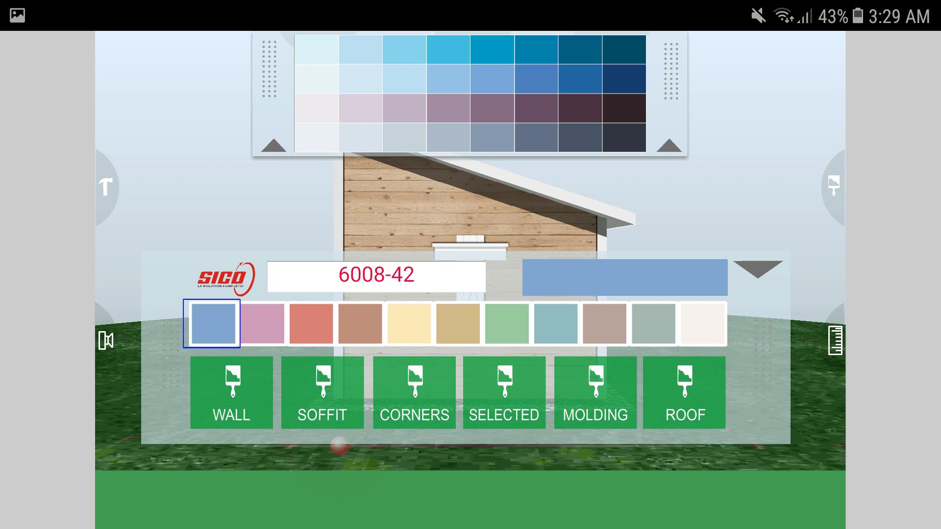 Udesignit 3D Garage Shed Colors