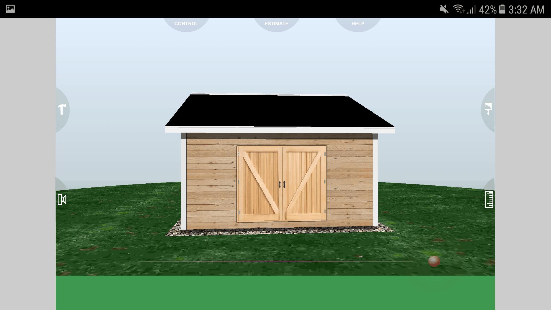 Udesignit 3D Garage Shed Final Result