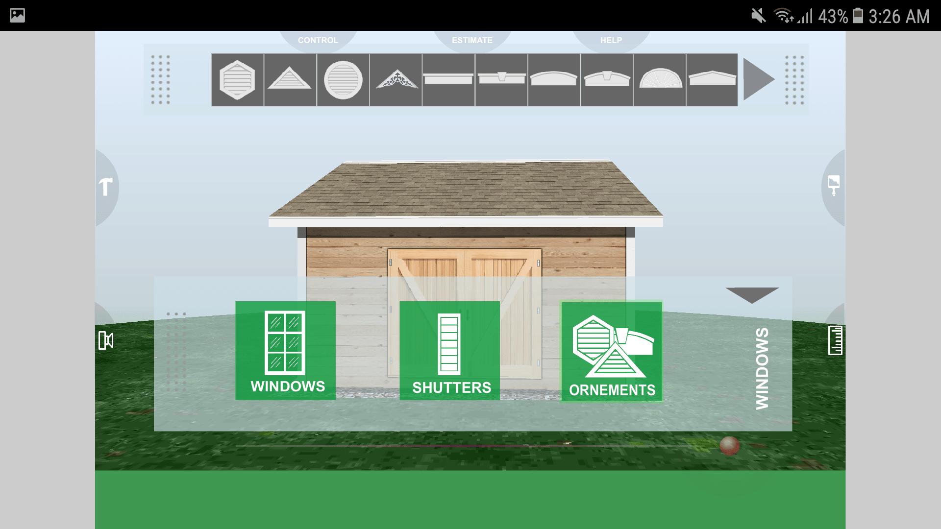 Udesignit 3D Garage Shed Ornements