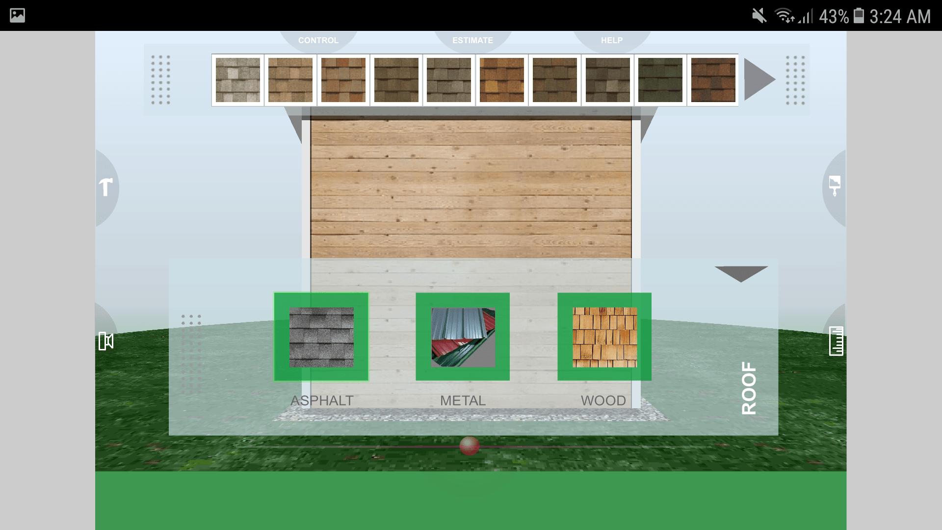 Udesignit 3D Garage Shed Roof
