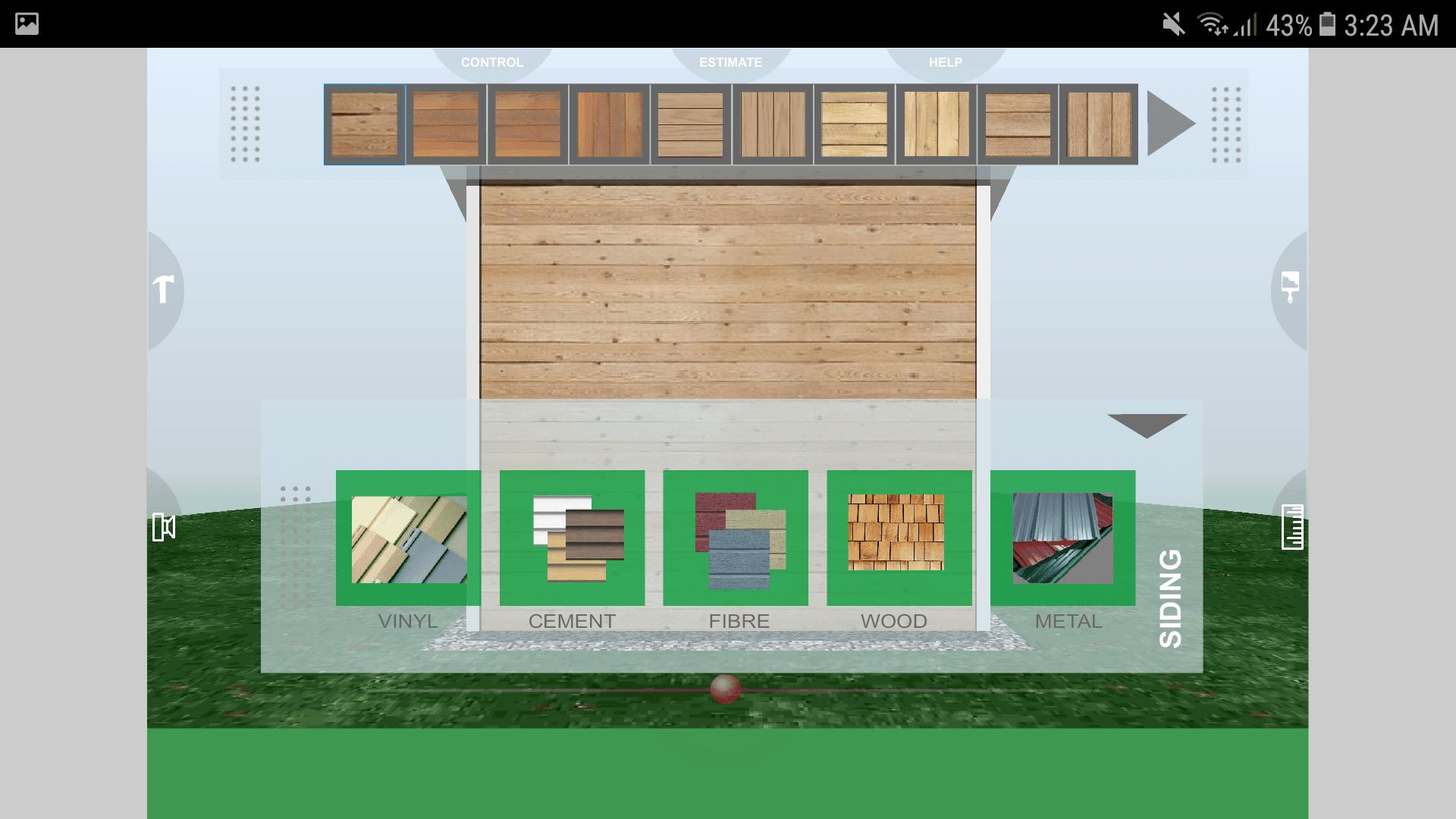 Udesignit 3D Garage Shed Siding