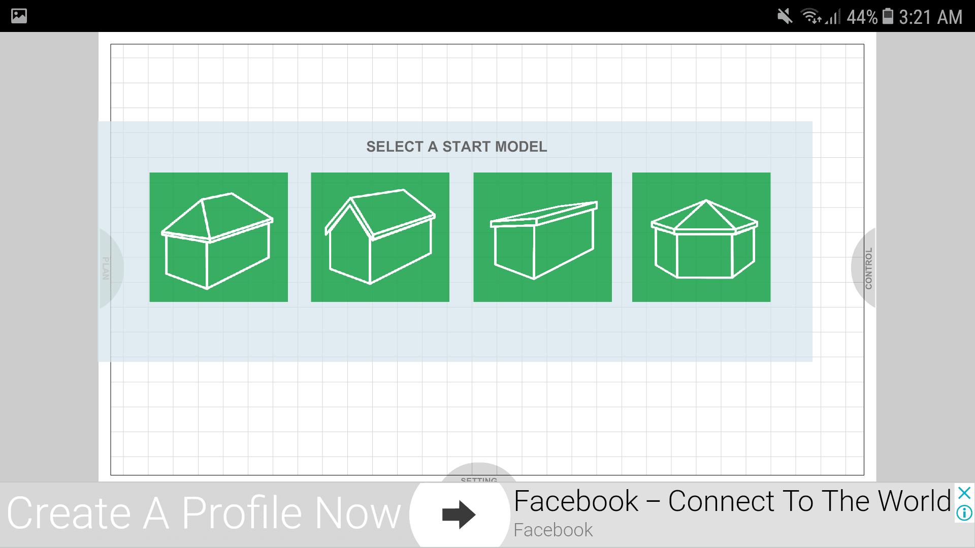 Udesignit 3D Garage Shed Start Model