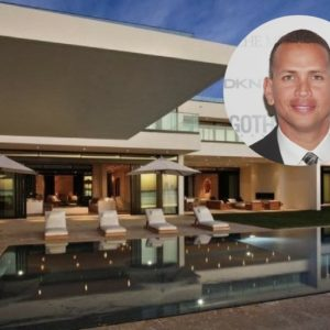 Alex Rodriguez, aka, A-Rod sells his grand Miami mansion for $38 million.