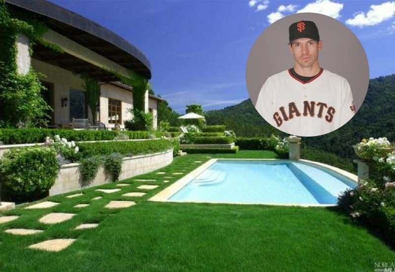 Barry Zito has sold his Bay Area mansion for $8.15M.