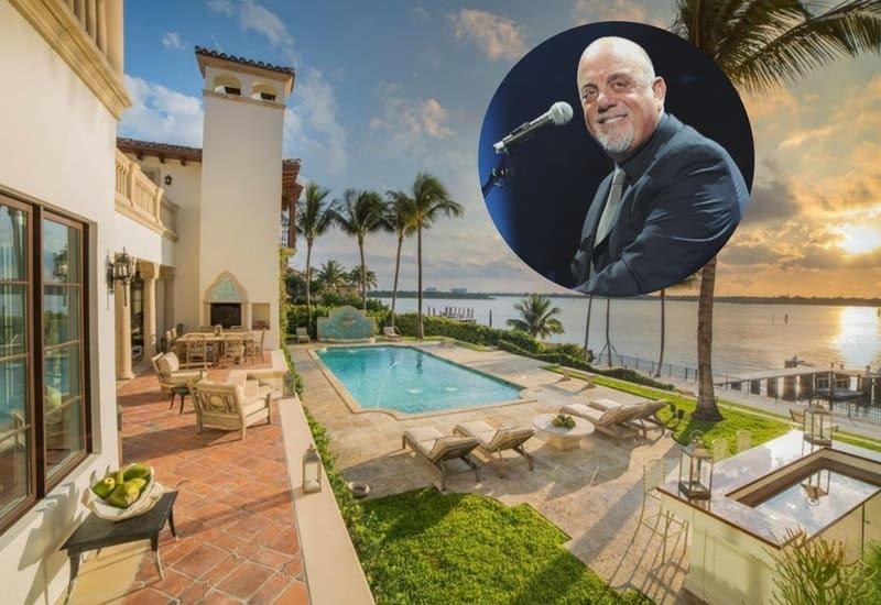 Billy Joel sells his Florida Coast estate for $27M.