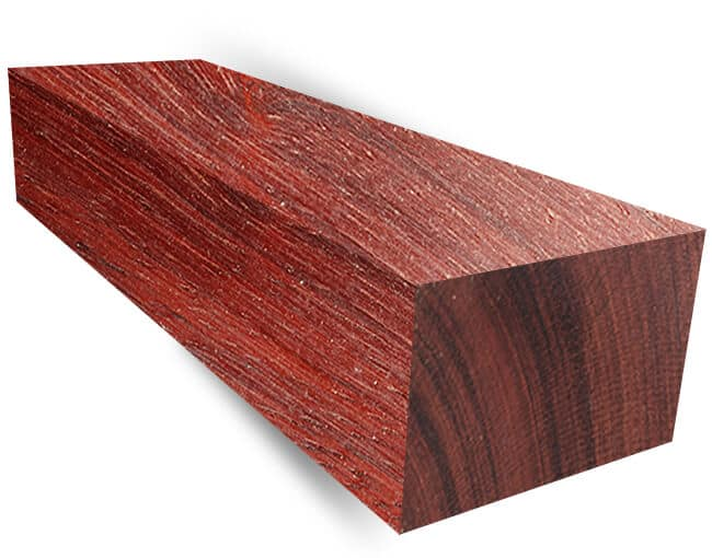 A block of bloodwood.