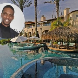 Chris Bosh sets Pacific Palisades home for lease for $45,000 a month.
