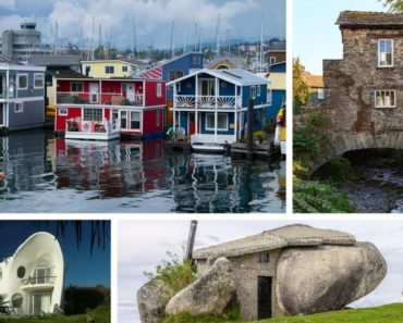 Collection of unusual houses (photos)