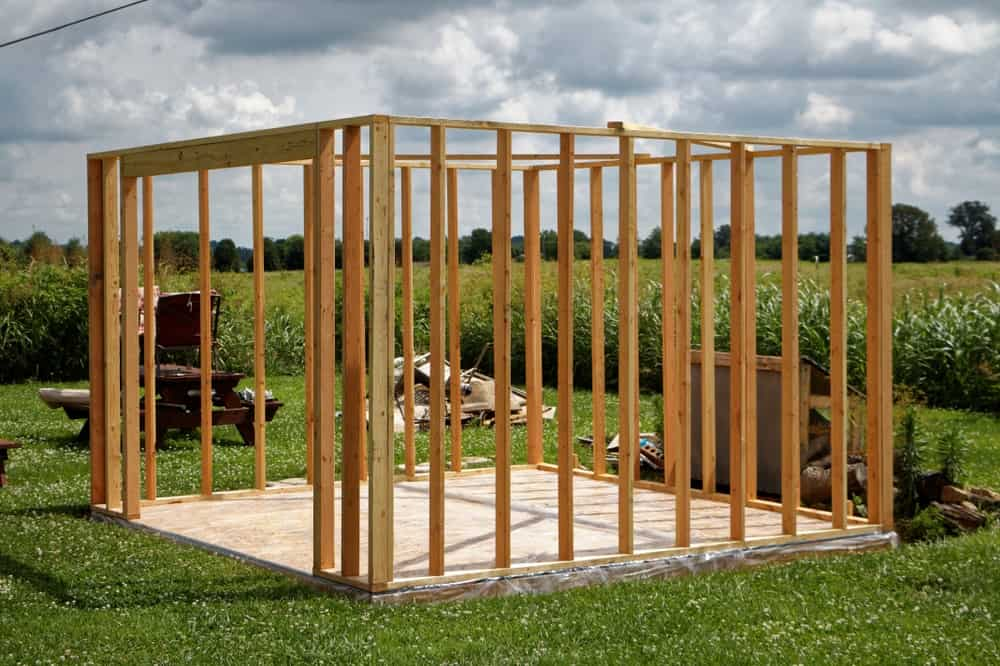 42 different types of sheds for your backyard 2018 for Types of shed foundations