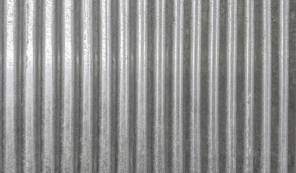 Corrugated metal panel
