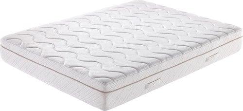 Queen-size, gel mattress with wavy details.