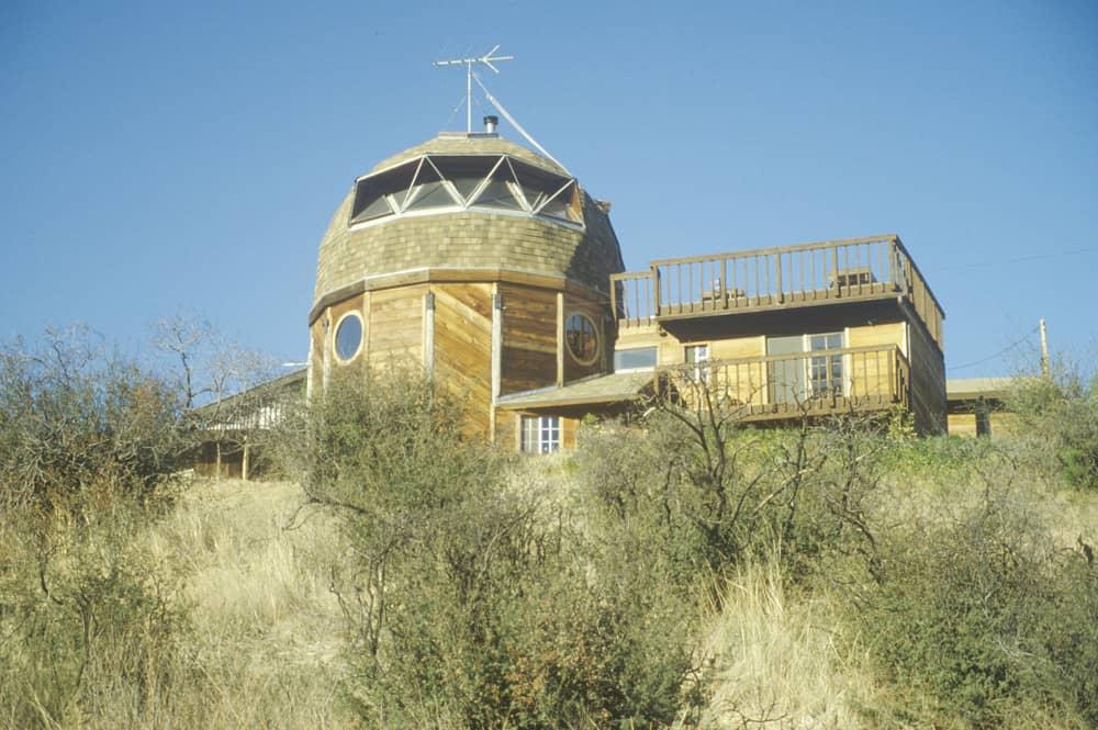 Dome house in the Santa Monica Mountains, California
