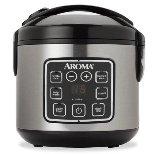 8-cup digital rice cooker.