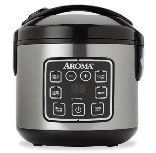 8-cup digital rice cooker.