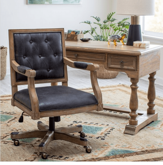 Frederick office chair with swivel.