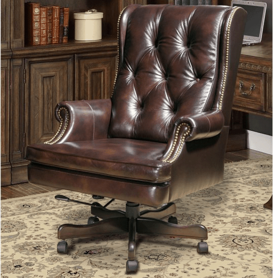 Parker House Leather Desk Chair