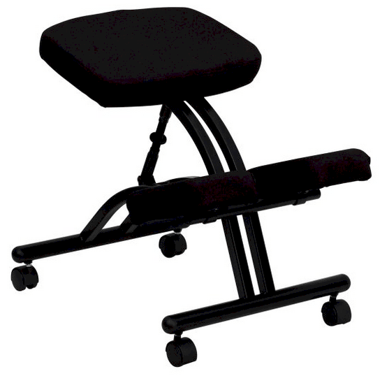 Kneeling posture office chair.