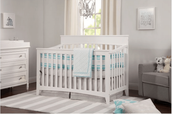 Rectangular crib
