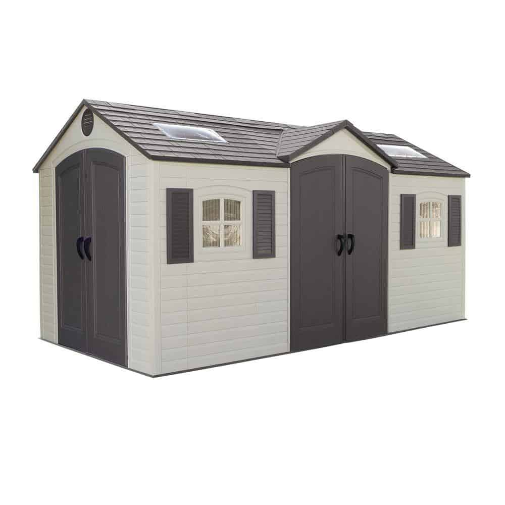 Shed for personal belongings