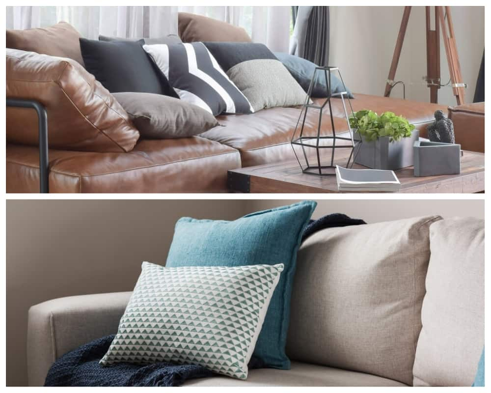 Awesome Leather Vs Fabric Sofas Pros And Cons Of Each Beatyapartments Chair Design Images Beatyapartmentscom