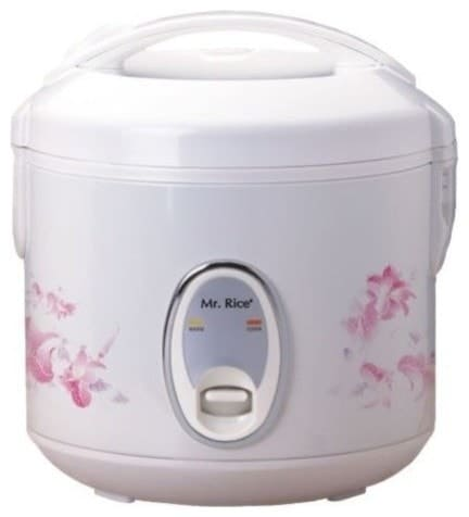 4-cups rice cooker with auto shutoff