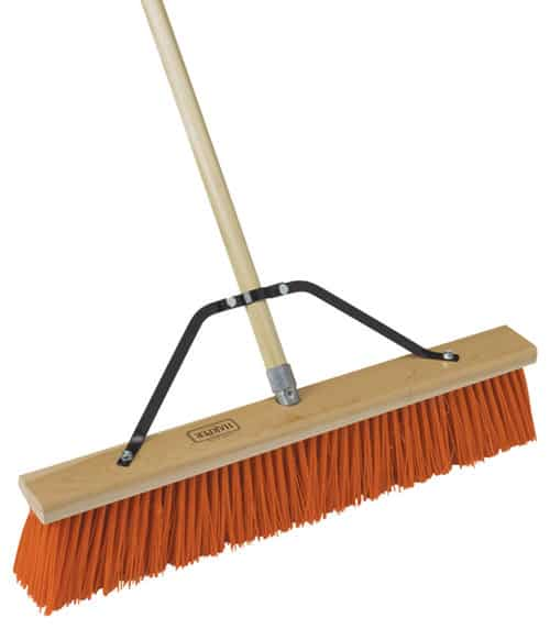 Broom with washable head