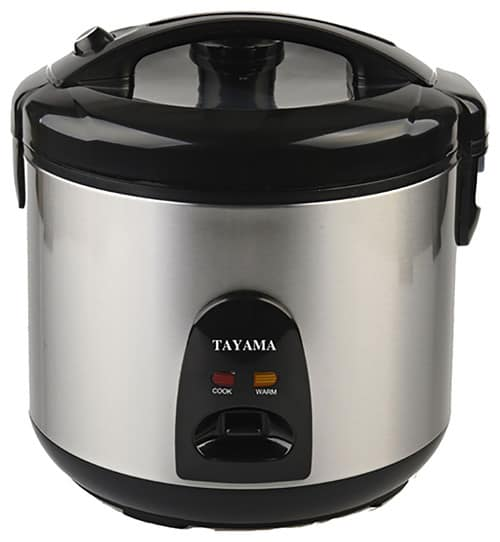 Contemporary rice cooker 10-cup