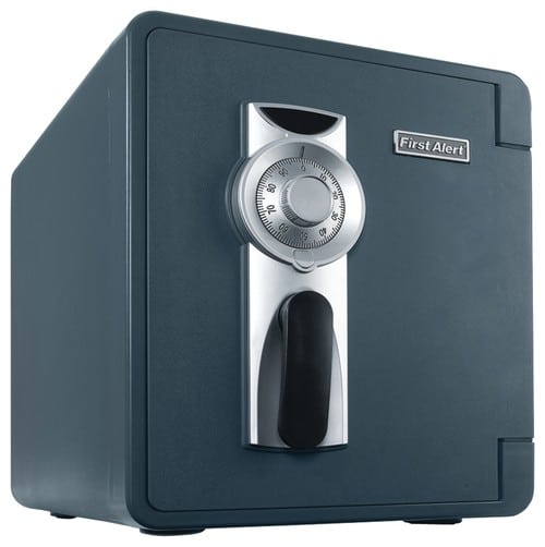 Combination dial lock safe