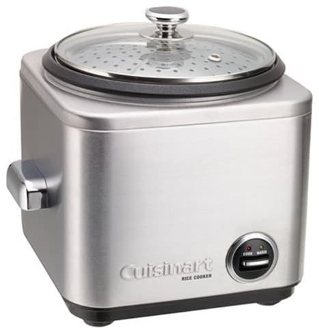 Medium 7-cup Cuisinart rice cooker.