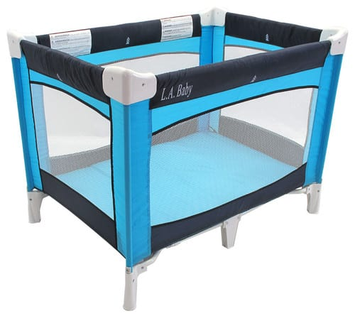 Fabric crib