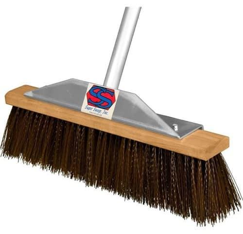 Fiberglass broom
