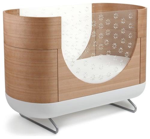 Oval crib