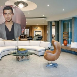 Joe Jonas rents mixed mid-century and modern style Hollywood Hills home for $40,000 a month.