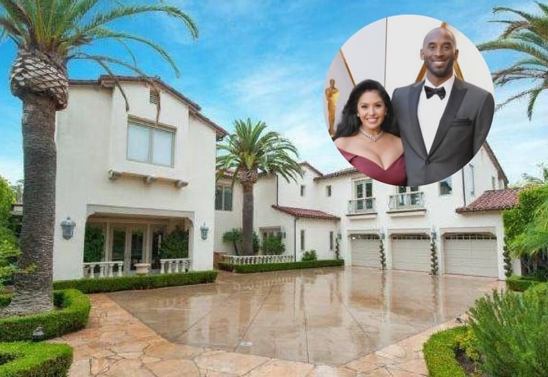 Kobe and Vanessa Bryant looking to sell their Southern California mansion for $8.6M.