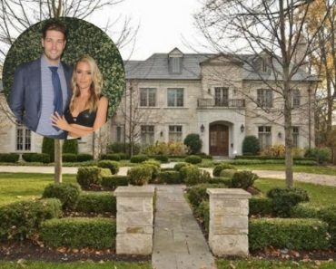 Kristin Cavallari and Jay Cutler rented a home in Chicago for $10,000 a month.