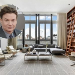 Mike Myers selling his New York Penthous for $13.95M.