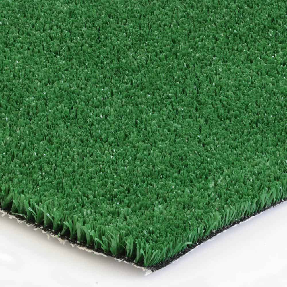 Artificial grass with a natural look recommended for commercial uses.