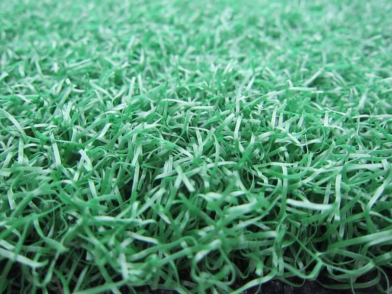Short nylon grass carpet.