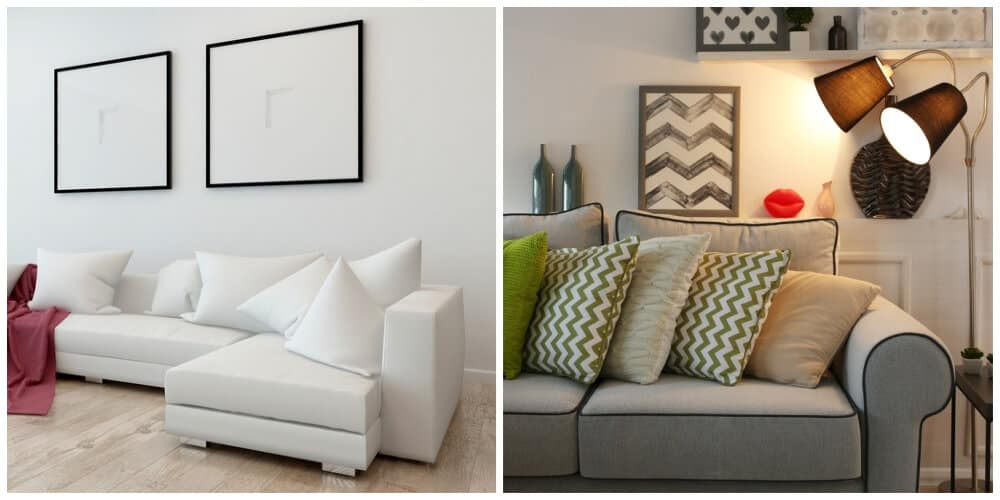 Comparison Between A Sectional And A Sofa.
